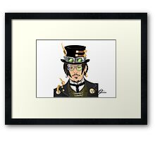 Johnny Depp - Steampunk Gentleman Framed Print