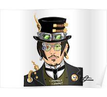 Johnny Depp - Steampunk Gentleman Poster