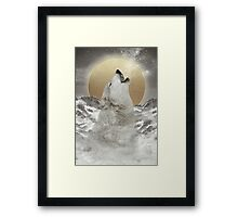 Turn Your Face To The Sun (Stay Gold) Framed Print
