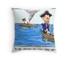 Captain Bligh Throw Pillow