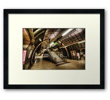 Jubilee Line Framed Print