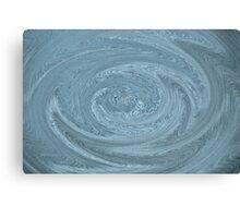 Digital Textured Swirl Art Canvas Print