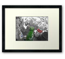 Soda Pop Framed Print