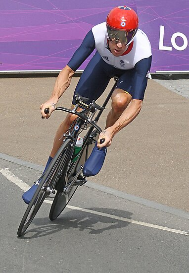 Bradley Wiggins  - Going For Gold - London 2012 by Colin J Williams Photography