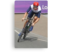 Bradley Wiggins  - Going For Gold - London 2012 Canvas Print