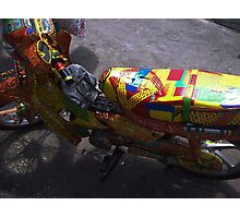 Colouful Ride Photographic Print