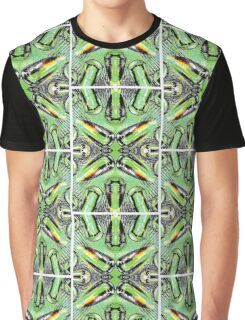 Green Crystal Graphic T-Shirt