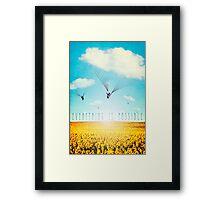 Thursday Dream - Cloud Ride Framed Print