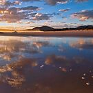 Reflected Clouds - South West Rocks, NSW by Malcolm Katon