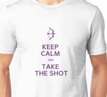 keep calm purple  Unisex T-Shirt