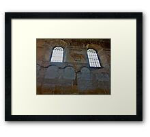 Rimanov synagogue, one of the oldest in Poland, is again the property of the Jewish community. Framed Print