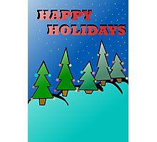 Holidays trees Photographic Print