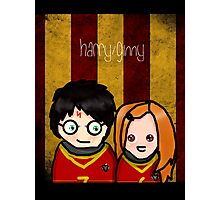 Hinny T-Shirt (Inverted) Photographic Print