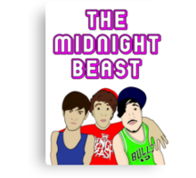 The Midnight Beast Canvas Print