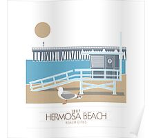 Beach Cities. Hermosa Beach Poster