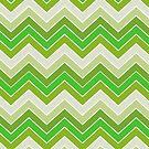 Spring Green {chevron pattern} by sweettoothliz