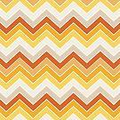 Autumn {chevron pattern} by sweettoothliz