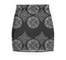 Compass & mandala Mini Skirt