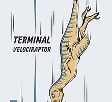Terminal Velociraptor by Nathan Joyce