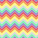 Candy Coated {chevron pattern} by sweettoothliz