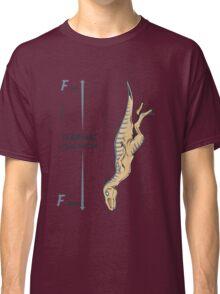 Terminal Velociraptor Classic T-Shirt
