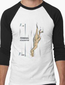 Terminal Velociraptor Men's Baseball ¾ T-Shirt