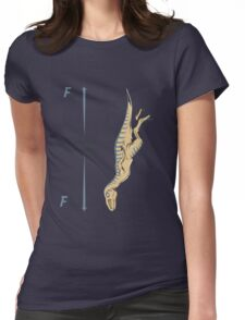 Terminal Velociraptor Womens Fitted T-Shirt