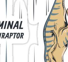 Terminal Velociraptor Sticker