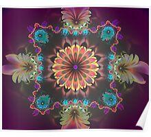 Purple Radiance Poster