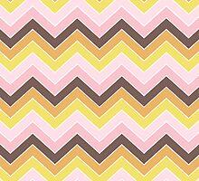 Retro {chevron pattern} by sweettoothliz