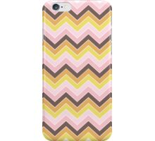 Retro {chevron pattern} iPhone Case/Skin