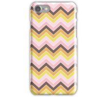 Retro {chevron pattern} iPhone Case/Skin