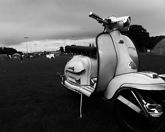 Scooter Rally Vibes by JudithBillinger
