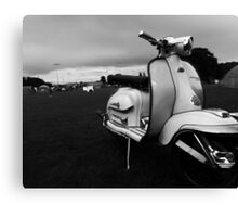 Scooter Rally Vibes Canvas Print