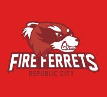 Republic City Fire Ferrets Baby Tee