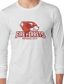 Republic City Fire Ferrets Long Sleeve T-Shirt