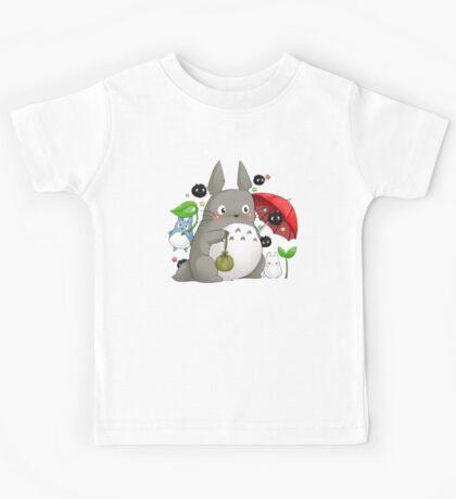 Totoro and friends Kids Tee
