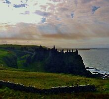 Dunluce Castle Ireland by Sean McAughey