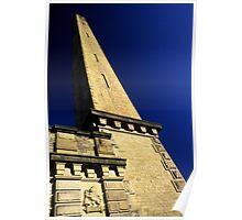 Salt's Mill Chimney Poster