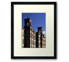 Turrets, Salt's Mill Framed Print