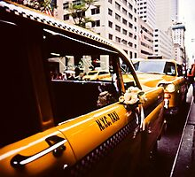 Vintage NYC Taxi by sxhuang818