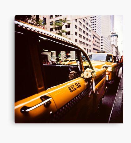 Vintage NYC Taxi Canvas Print
