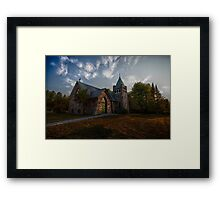 Holy Trinity Anglican Church Framed Print