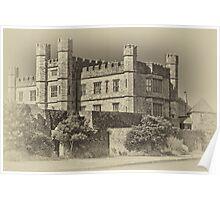 Leeds Castle Nostalgic 2 Poster