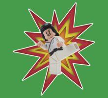 Karate Kick One Piece - Short Sleeve
