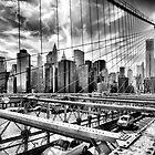Brooklyn bridge by Daniel St-Laurent