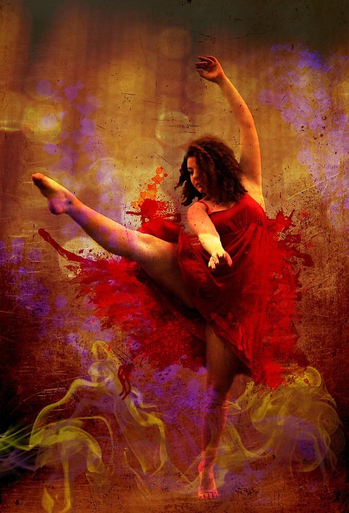 Live More / Dance More by Melissa Park