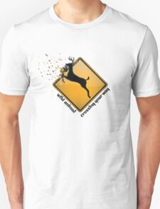 Wild Animal Crossing Your Way T-Shirt Unisex T-Shirt