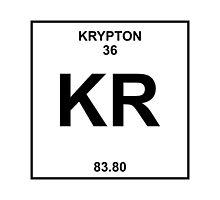 Krypton Periodic Table by LadyCyprus
