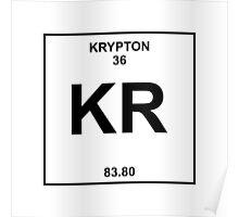 Krypton Periodic Table Poster